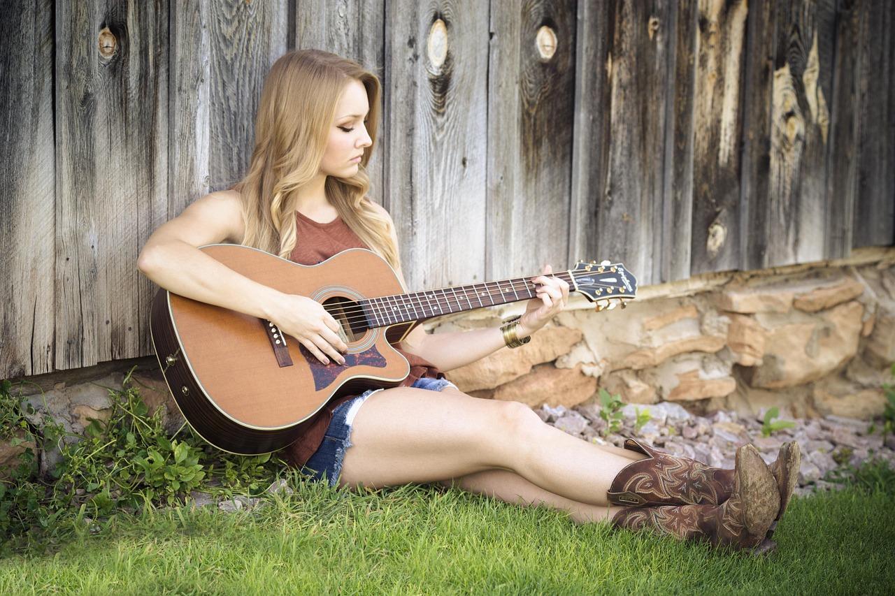 High End Acoustic Guitar